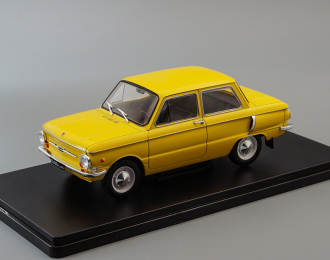 ЗАЗ-968А, Легендарные Советские Автомобили 37, желтый