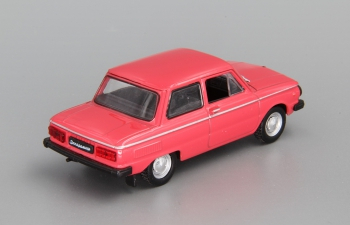ЗАЗ 968М Запорожец, Автолегенды СССР 53, красный