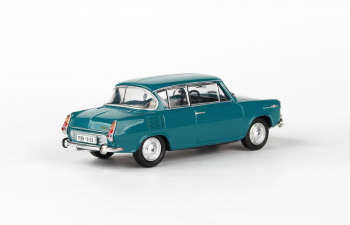 Škoda 1100MBX - 1969 Modrozelená Tmavá 1:43 -