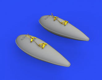 Дополнение к модели P-51D 75gal подвесные баки