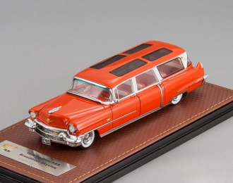CADILLAC Broadmoor Skyview Wagon 1956 Red