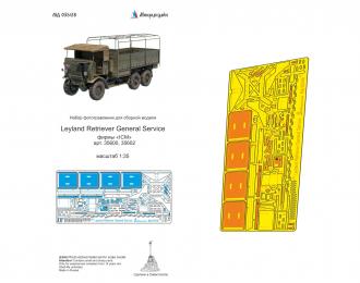 Фототравление Leyland Retriever General Service (ICM)