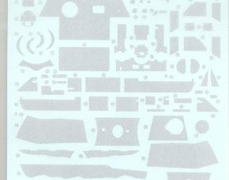 Декаль Циммерит для немецкого танка Пантера А, тип 4