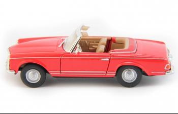 MERCEDES-BENZ 280SL Open Top (откр.двери), red