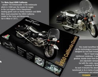 Сборная модель мотоцикл MOTO GUZZI V850 CALIFORNIA