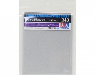 Наждачная бумага на поролоновой основе с зернистостью 240