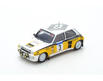 Renault 5 Turbo #3 Winner Tour de France 1984 J. Ragnotti - P. Thimonier