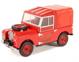 "(Уценка!) LAND ROVER Series 1 88"" Hard Top ""Rover Fire Brigade""(пожарный) 1950"