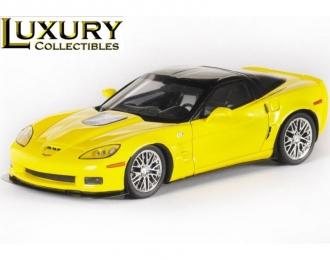 CORVETTE ZR1 (2010), yellow