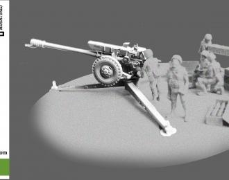 Сборная модель Советская буксируемая 122-мм гаубица Д-30