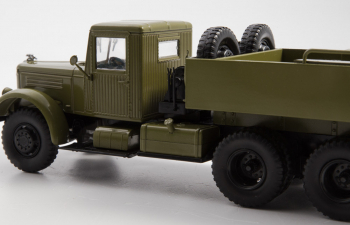 ЯАЗ-210Г балластный тягач, Легендарные Грузовики СССР 40