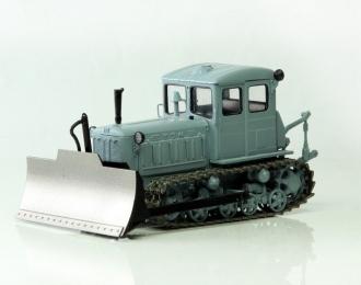 Т-74 бульдозер поздний (серый чистый)