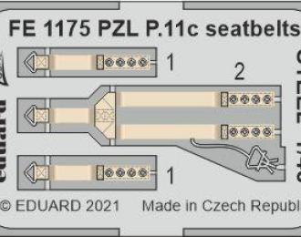 Фототравление для PZL P.11c, ремни безопасности СТАЛЬНЫЕ
