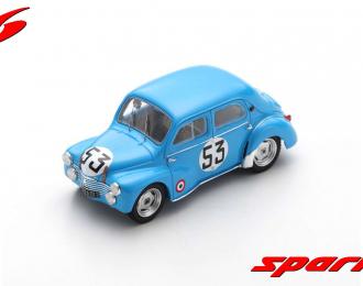 Renault 4CV 1063 #53 24H Le Mans 1952 Y. Lesur - A. Briat