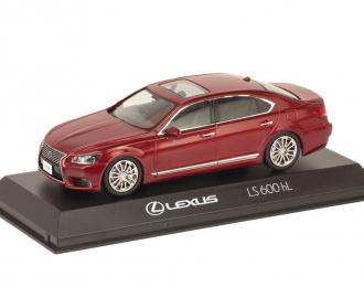 Lexus LS 600h L 2010 красный