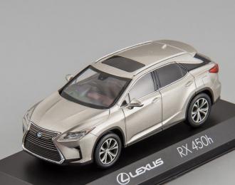 Lexus RX450h (sonic titanium)