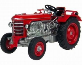 HURLIMANN трактор D70 1962, red