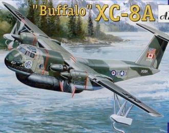 Сборная модель Канадский опытный самолет de Havilland Canada XC8A ACLS Buffalo