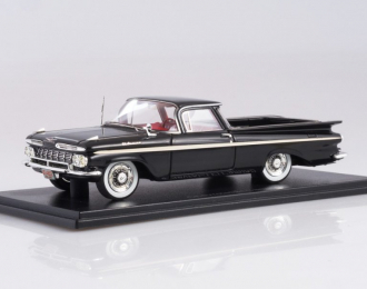 Chevrolet El Camino Black/White 1959