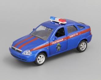 ВАЗ 2172 Приора Хэтчбек Следственный Комитет, синий