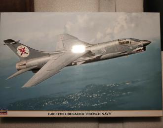 Сборная модель Самолет F-8E(FN) Crusader French Navy