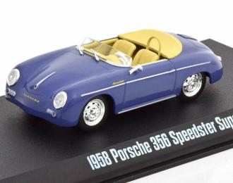 PORSCHE 356 Speedster Super 1958 Aquamarine Blue