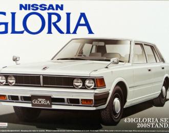 Сборная модель Nissan 430 Gloria Sedan 200 Standard