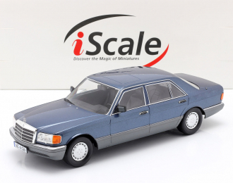 Mercedes-Benz 560 SEL W126 1985 синий металлик