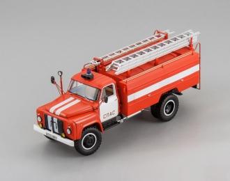 """Горьковский грузовик тип АЦ-30(53-12)-106Г """"СПАС"""""""