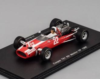 Cooper T81 #22 6th Mexican GP 1966 Jo Bonnier