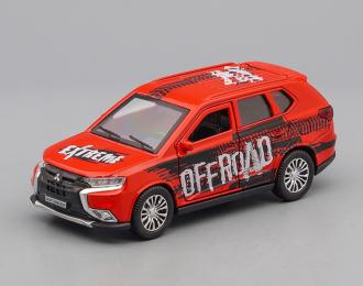 MITSUBISHI Outlander Offroad, red