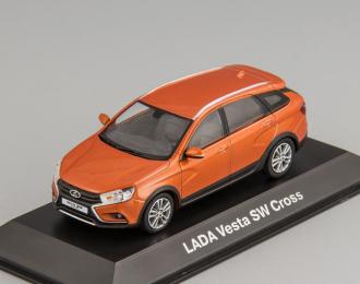 LADA Vesta SW Cross оранжевый металлик
