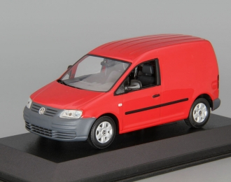 VOLKSWAGEN Caddy (2005), red