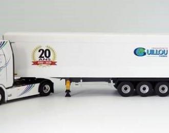 """SCANIA S500 c полуприцепом """"GUILLOU 20 ANS"""" 2020"""
