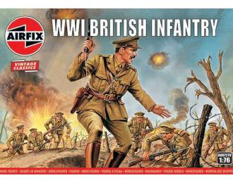 Сборная модель Набор солдатиков WWI British Infantry