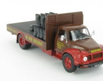 BEDFORD TJ 65 (Grande-Bretagne 1965), серия Camions DAutrefois 35, коричневый