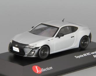 TOYOTA 86 RC (2012), silver / black