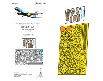 Набор фототравления для модели Боинг 757-200 (Звезда)