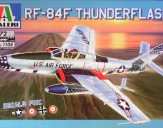 Сборная модель Американский разведывательный самолет RF-84F Thunderflash