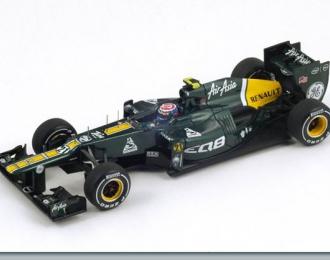 CATERHAM CT01 #20 Malaysian GP Heikki Kovalainen (2012), green