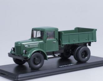 МАЗ 205 самосвал ранний, зеленый