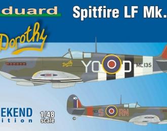 Сборная модель Британский истребитель Supermarine Spitfire LF MK.IXc (Weekend edition)
