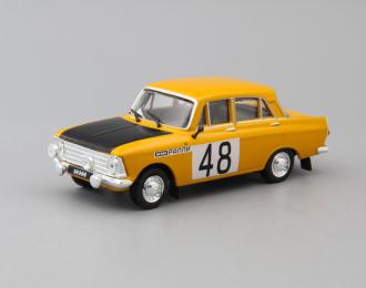 ИЖ-412 ралли, Автоспорт СССР 6, желтый / черный