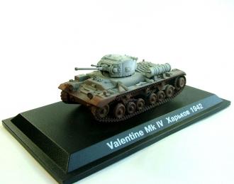 """Британский пехотный танк """"Valentine"""" Харьков (1942), Танки Мира Коллекция 11"""
