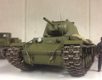Танк КВ-1 (чистый хаки)