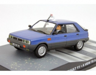 RENAULT 11 Taxi A View to a Kill 1985, Blue