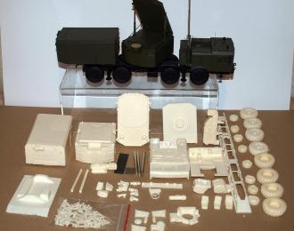 Сборная модель Радиолокатор подсветки и наведения РПН 30Н6Е ЗРС С-300 (на базе МЗКТ-7930)