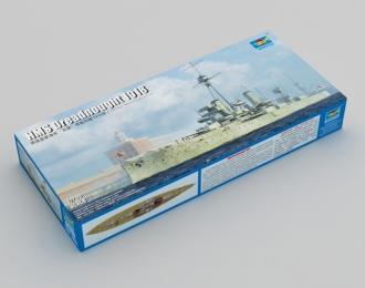 Сборная модель Британский линейный корабль Dreadnought (1918)