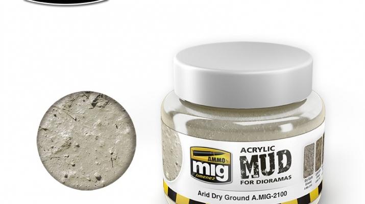 ARID DRY GROUND (акриловый продукт для создания реалистичных оснований) 250 мл.