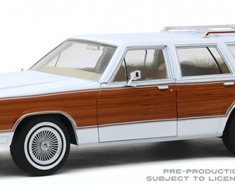 MERCURY Grand Marquis Colony Park 1989 White with Wood